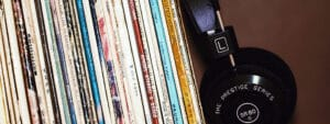I couldn't do without my record collection and hi-fi