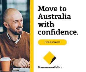 CommBank is excited to welcome you to Australia.